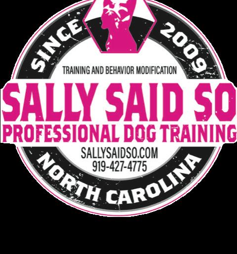 Greensboro NC Dog Training | Sally Said So Dog Trainers